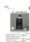 MiniBump Ultra-Small Calibration Gas Instrument - Brochure