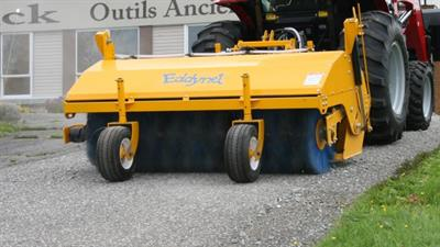 Eddynet - Model RTH24-05 / RTH24-06 / RTH24-07 / RTH24-08 - Hydraulic Pick-up Sweeper for Tractor