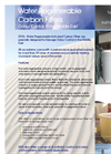 ERG`s Water Regenerable Carbon Filters Brochure