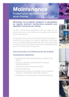 Maintenance Service Brochure