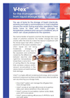 V-tex For The Management Of Vent Gases From Liquid Storage Tanks