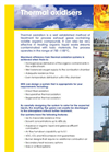 ERG Thermal Oxidisers Brochure