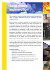 ERG - Solid Waste Incineration Systems - Brochure