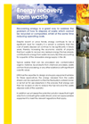ERG - Energy Recovery from Waste Systems - Brochure