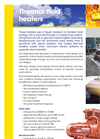 ERG Thermal Fluid Heaters Systems Brochure