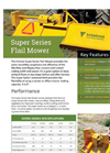 Vrisimo MiniMax - Model Super Series - Flail Mower Datasheet