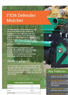 BrushHound - Model FX36 - Defender Forestry Mulcher Brochure