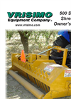 Vrisimo - Model 500 Series - Brush Shredder Manual