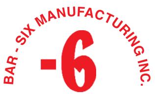 Bar6 Manufacturing