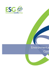 ESG Environmental Safety Compliance Brochure