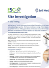 In Situ Testing Service – Brochure