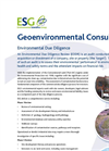 Environmental Due Diligence Service – Brochure