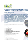 Waste Management Service – Brochure
