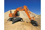 Doosan Construction - Model DX140W-3  - Wheeled Excavator