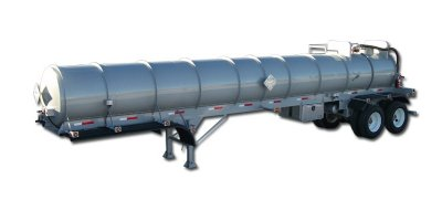 Galyean - Model 2000 -5000 Gallon - Stainless Steel Transports Trailer
