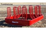 Tombstone Bale Feeder
