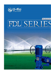 U-flo - Model FDW Series - Casting Iron Horizontal Multistage Pump Brochure