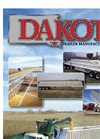 Dakota Trailer Manufacturing, Inc.- Brochure