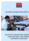 Magnetic Separation Equipment for Ceramics & Powder Handling Industry (253 KB PDF format)