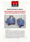 High Intensity Electro Magnetic Filters Brochure (368 KB PDF format)