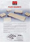 Plate Magnets - Brochure