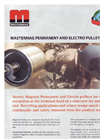 Mastermag - Permanent and Electro Pulley Magnets - Brochure