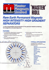 Masteroll Rare Earth Roll Separators Brochure (403 KB PDF format)