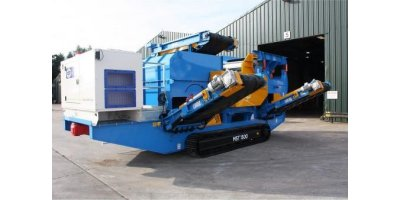 Mastertrax - Model ECS150 - Mobile Eddy Current Metal Sorter