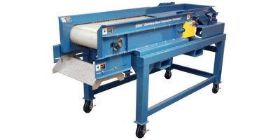 Model HISC - Stainless Steel Electronic All-Metal Separator - Electronic Waste Recycling