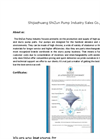 Solid handling slurry pump catalogue