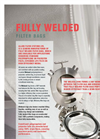 Fully Welded Filter Bags - Brochure