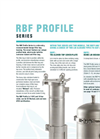 Model RBF Profile Series - Side Entry Recessed Basket Design Filter Bag Housing Brochure