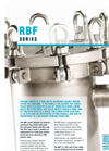 Model RBF series - Side Entry Recessed Basket Design Filter Bag Housing Brochure