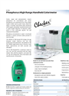 CheckerHC - Model HI 706 - Handheld Colorimeter Brochure