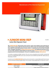 GFE - Model JUNIOR MINI-REP - Junior Mini-Repeater Panel - Brochure