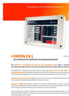 GFE - Model ORION EX-L - Conventional Fire Detection and Extinguishing Panel - Data Sheet