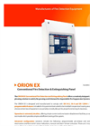 GFE - Model ORION EX - Conventional Fire Detection and Extinguishing Panel - Data Sheet