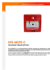 GFE-MCPE-C - Conventional Manual Call Point