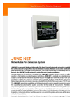 Juno Net Main - Analogue Addressable Fire Alarm Control System Brochure