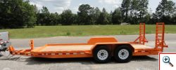 Rolls Rite - Model 14KP16FE - Low Rider - Deck Between Fenders Trailer