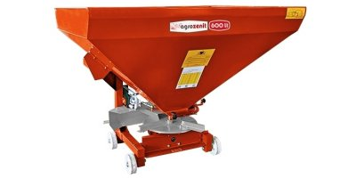 Agrozenit - Model 500 lt - Single Disc Fertilizer Spreader