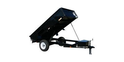 Model 5X10DUMPLP5K  5000 lb. GVWR - Low Profile Dump Trailers