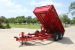 Model DL - Low-Pro Bumperpull Dump Trailer