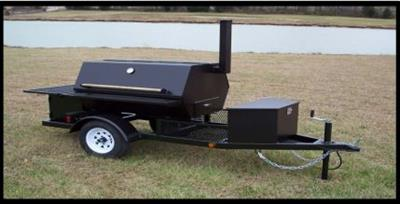 Model RB - Grill/Smoker Trailer