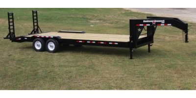 Southwest Gooseneck - Single Tandem Gooseneck Hybrid Equipment Hauler