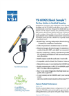 YSI 600QS Quick Sample Sonde Specification Sheet