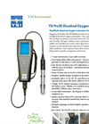 YSI Pro20 Dissolved Oxygen Meter Specification Sheet