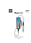 Pro2030 Dissolved Oxygen/Conductivity User Manual