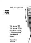 30 / 30M Handheld Salinity, Conductivity and Temperature System Operations Manual