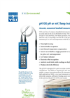 YSI pH100 pH or mV/Temp Instrument Specifications